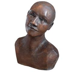 German Mid-Century Portrait Bust