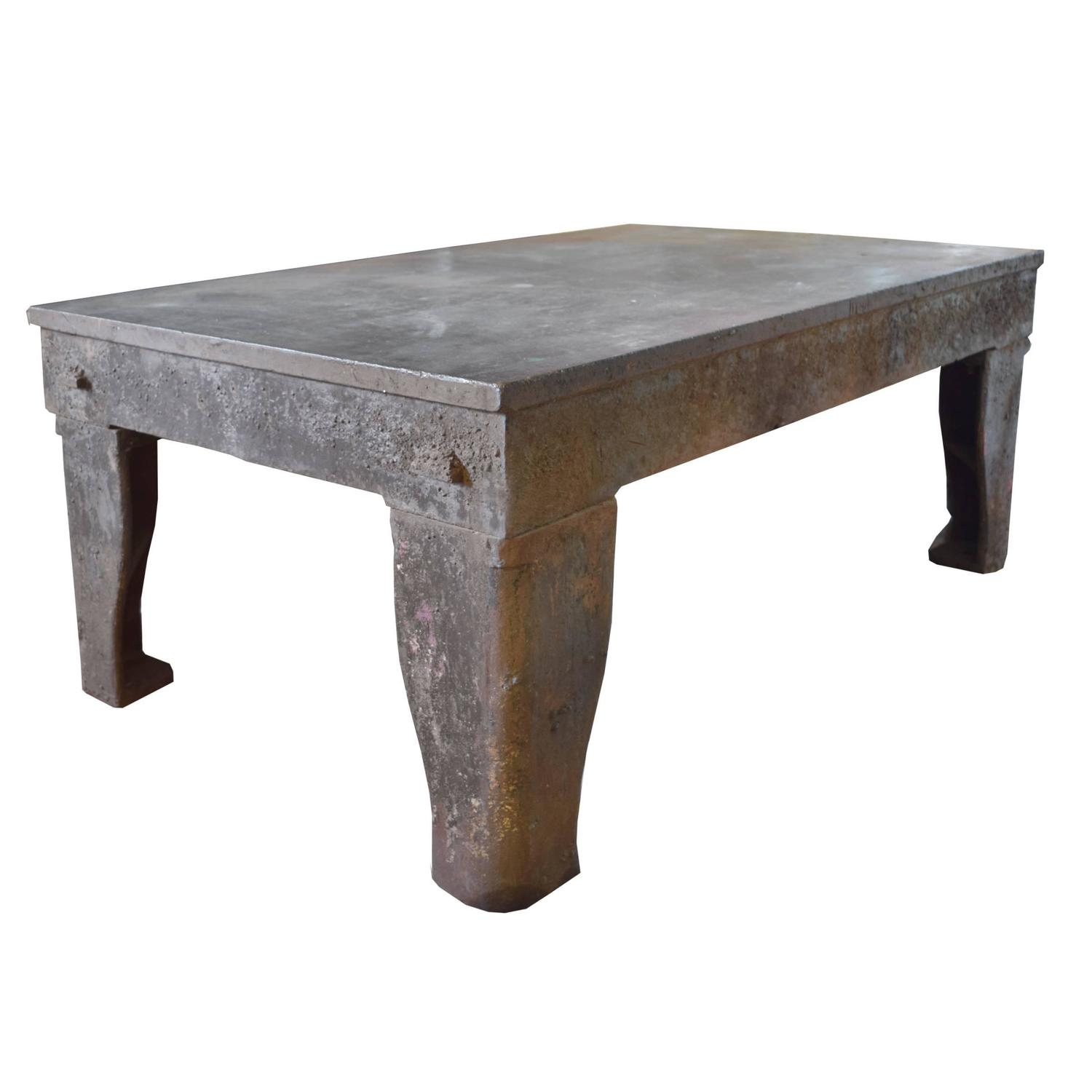 English industrial welding table for sale at 1stdibs