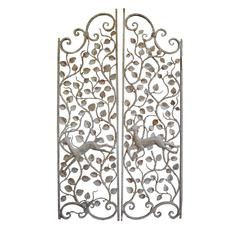 Pair of French Wrought Iron Gates