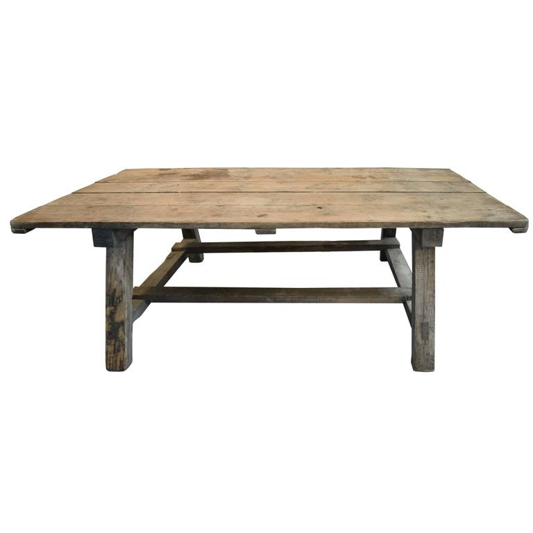 French Provincial Wood Table At 1stdibs