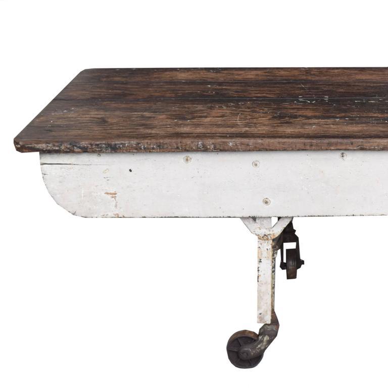 Metal Argentine Baker's Table For Sale