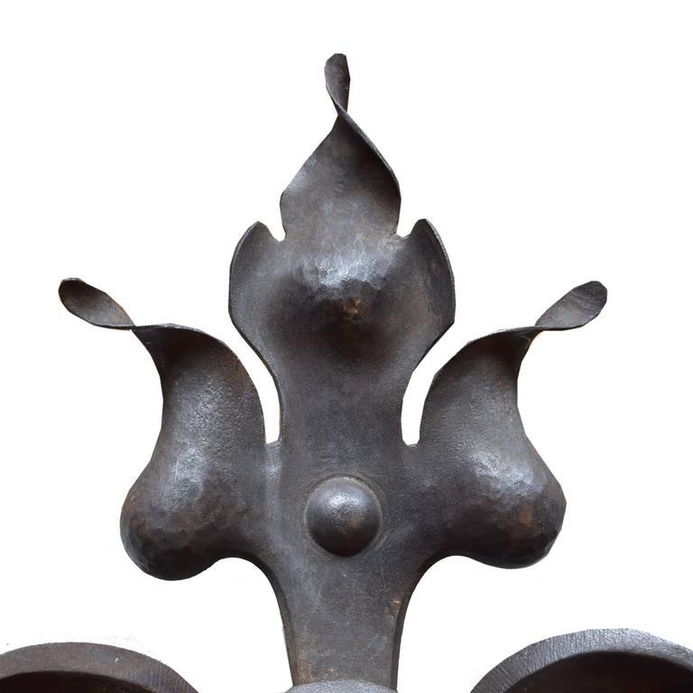 French Wrought Iron Door Knocker 3
