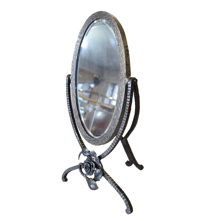 French Fer Forge Vanity Mirror For Sale At 1stdibs