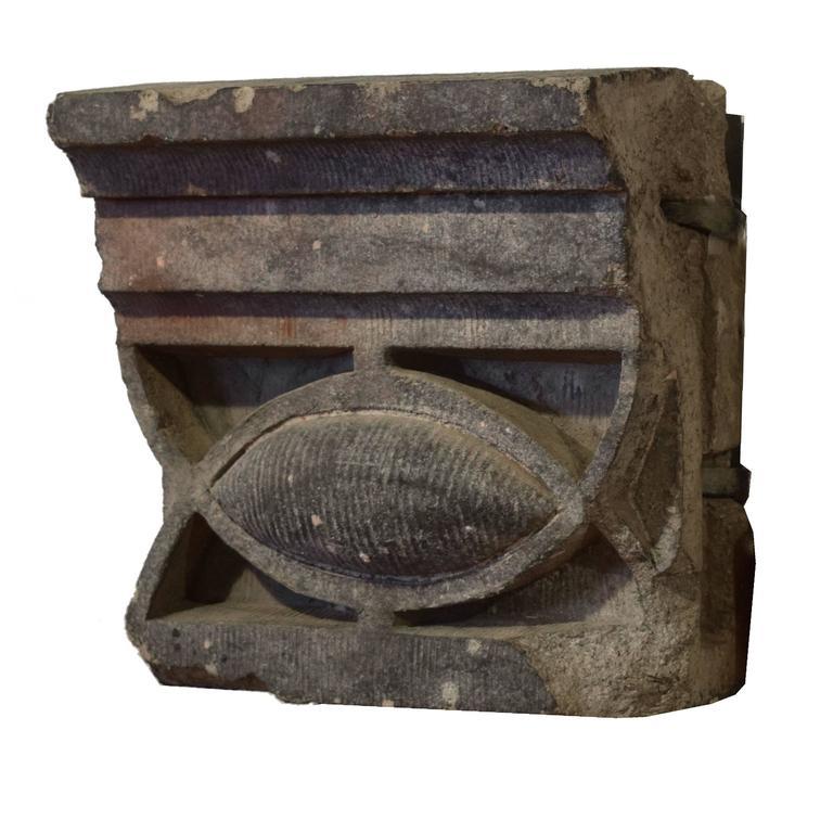 American Sullivan Designed Terra Cotta Fragment from the Chicago Stock Exchange For Sale