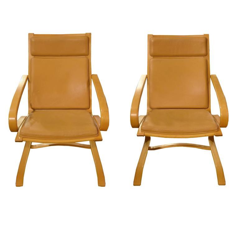 Pair of Italian Mid-Century Chairs