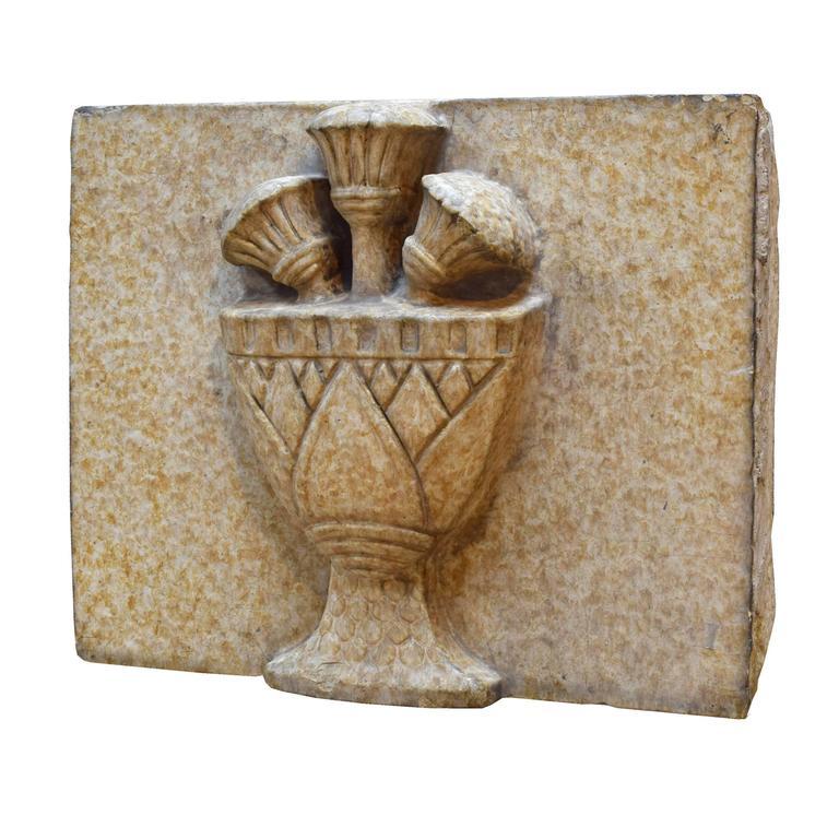 Terra Cotta Block : Glazed terra cotta panel for sale at stdibs