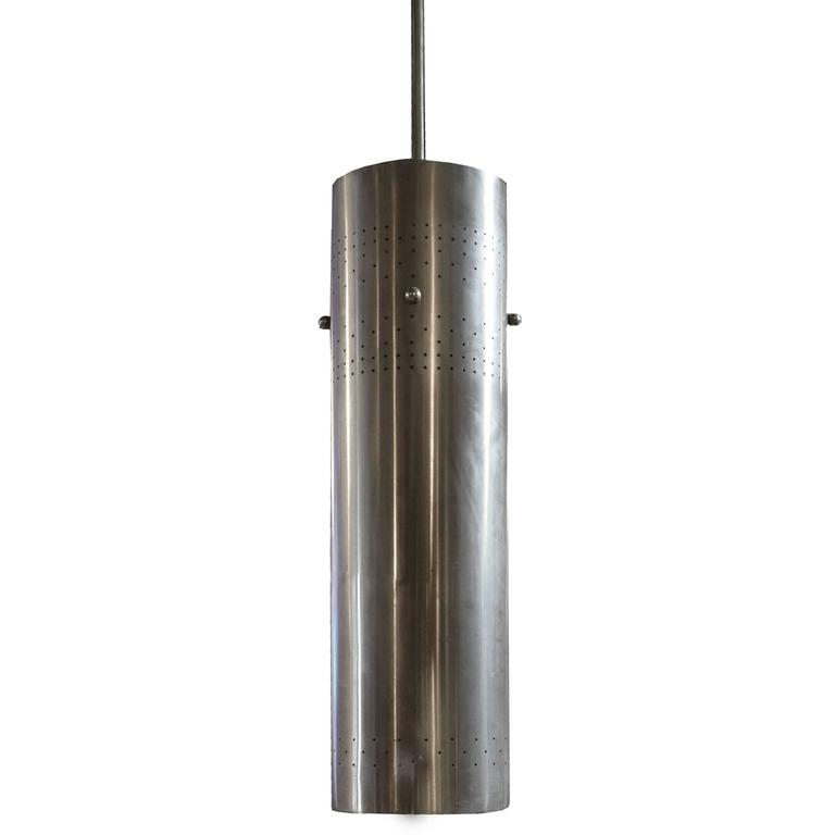 American Mid-Century Cylinder Light Fixture
