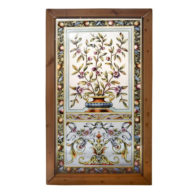 English art glass window for sale at 1stdibs for Art glass windows