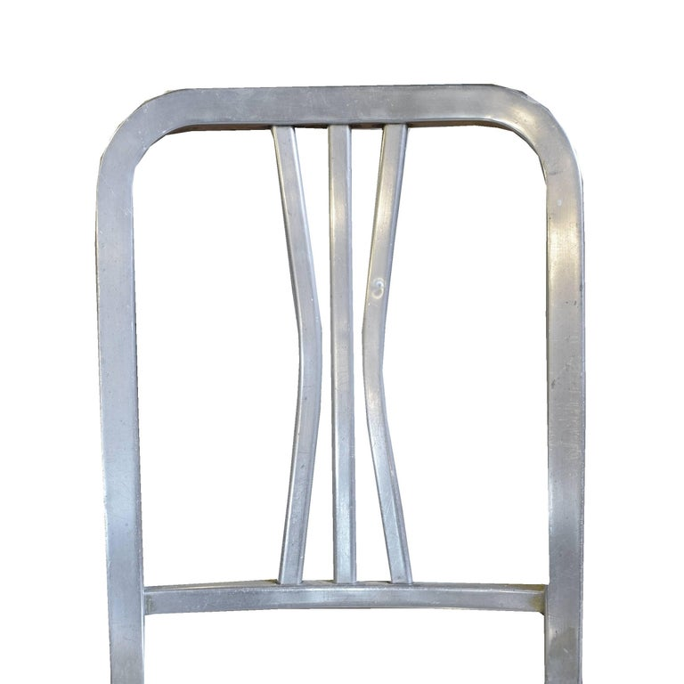 Good Form Fireproof Aluminium Chair at 1stdibs