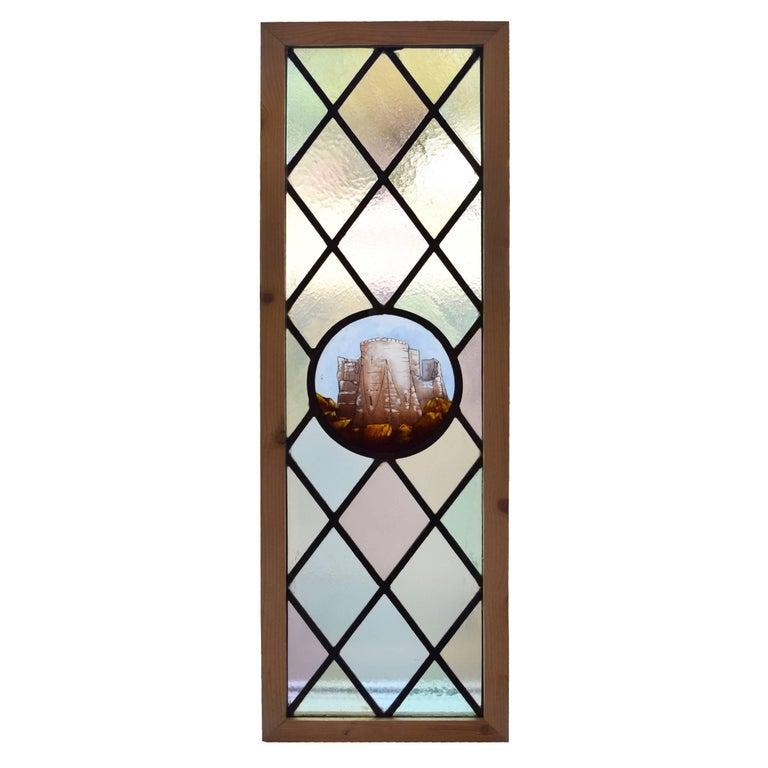 English Art Glass Window