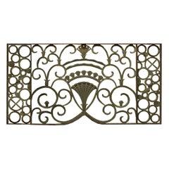 Bronze Art Deco Panel