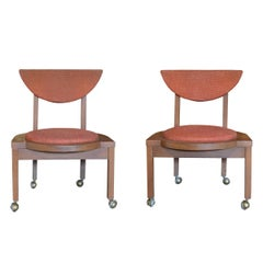 Pair of Frank Lloyd Wright Designed Side Chairs, 1953