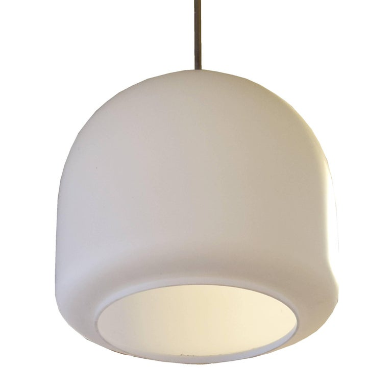 Czech Mid-Century Light Fixture In Good Condition For Sale In Chicago, IL