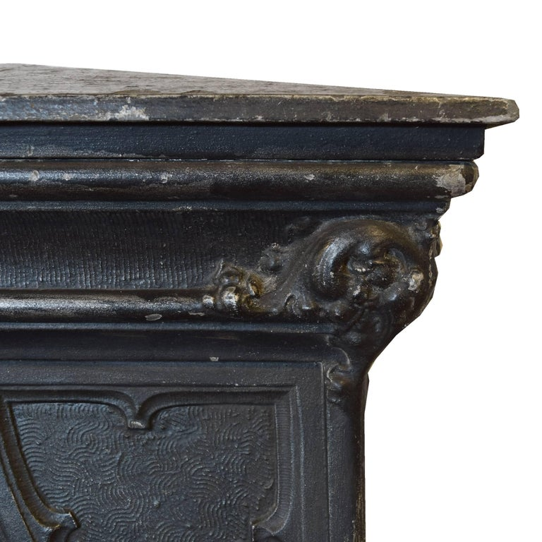 American cast aluminum newel post for sale at stdibs