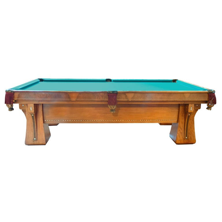 Brunswick Balke Collender Arcade Pool Table At Stdibs - Brunswick 9 foot pool table
