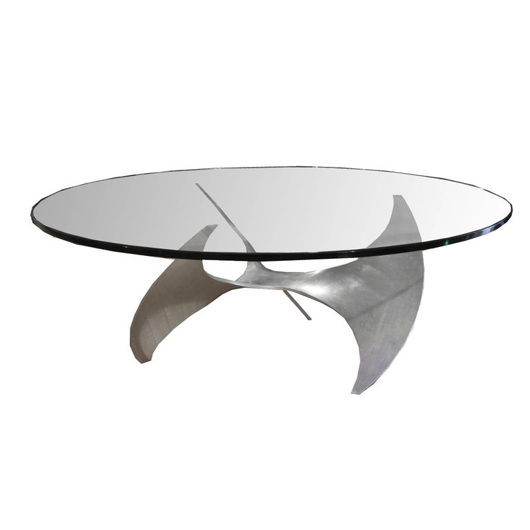 Propeller Coffee Table by Knut Hesterberg
