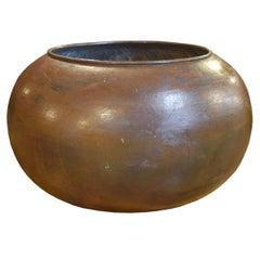 Italian Copper Chocolate Vessel