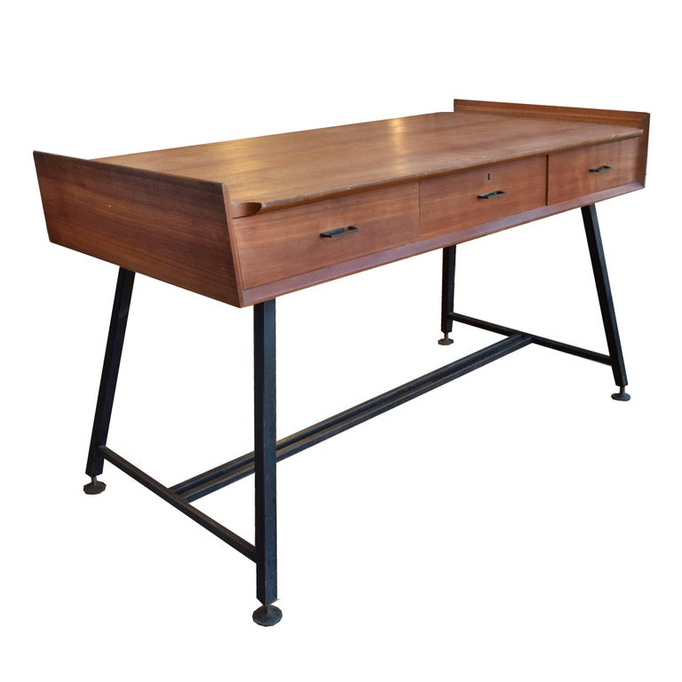 Italian Modern Double-Sided Table or Desk