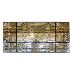 American Scenic Stained Glass Window