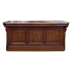 French Walnut Store Counter
