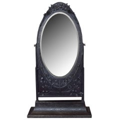 French Fer Forge Dressing Mirror