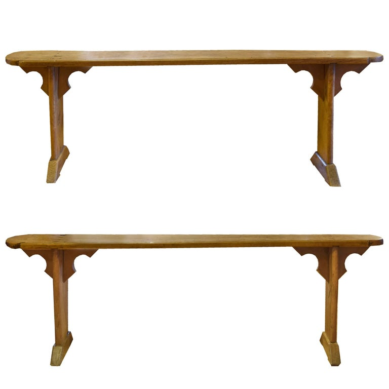 Pair of French Benches For Sale