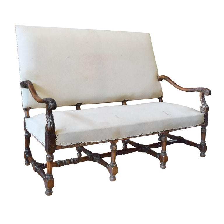 18th century french settee for sale at 1stdibs for Settees for sale