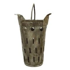 French Zinc Basket