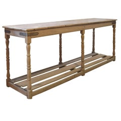 French Wood Draper's Table