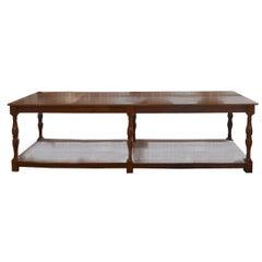 French Oak Draper's Table