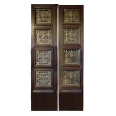 19th Century Argentine Doors with Bronze Grills