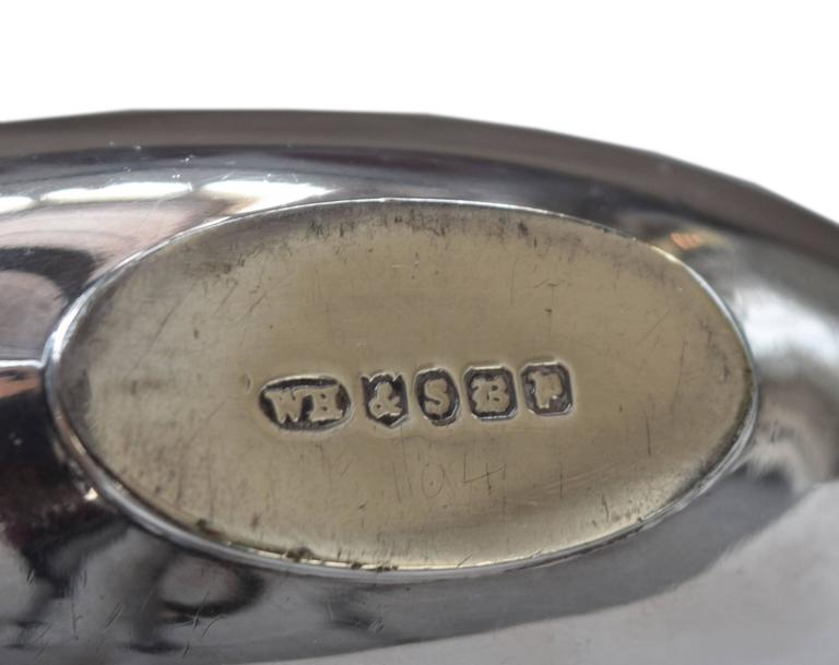 William Hutton And Sons Antique Silver Plate And Stamped