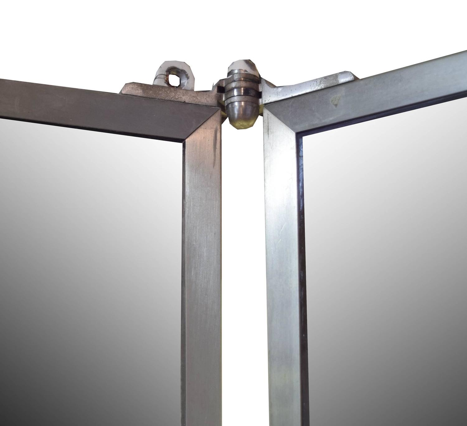 Tri Fold Dressing Room Mirror At 1stdibs