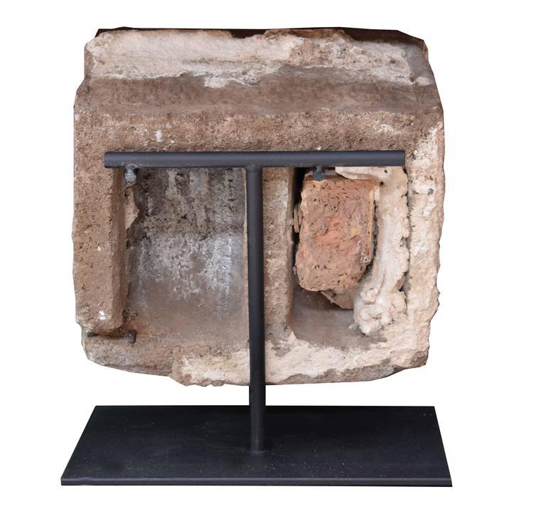 Terra Cotta Block : Terra cotta fragment from the chicago stock exchange by