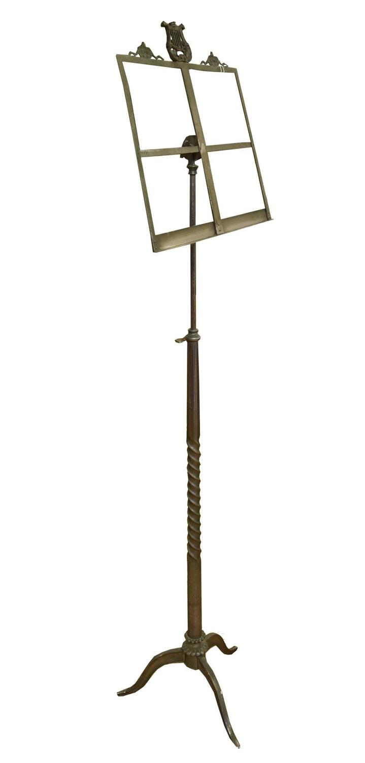 early 20th century bronze music stand for sale at 1stdibs. Black Bedroom Furniture Sets. Home Design Ideas