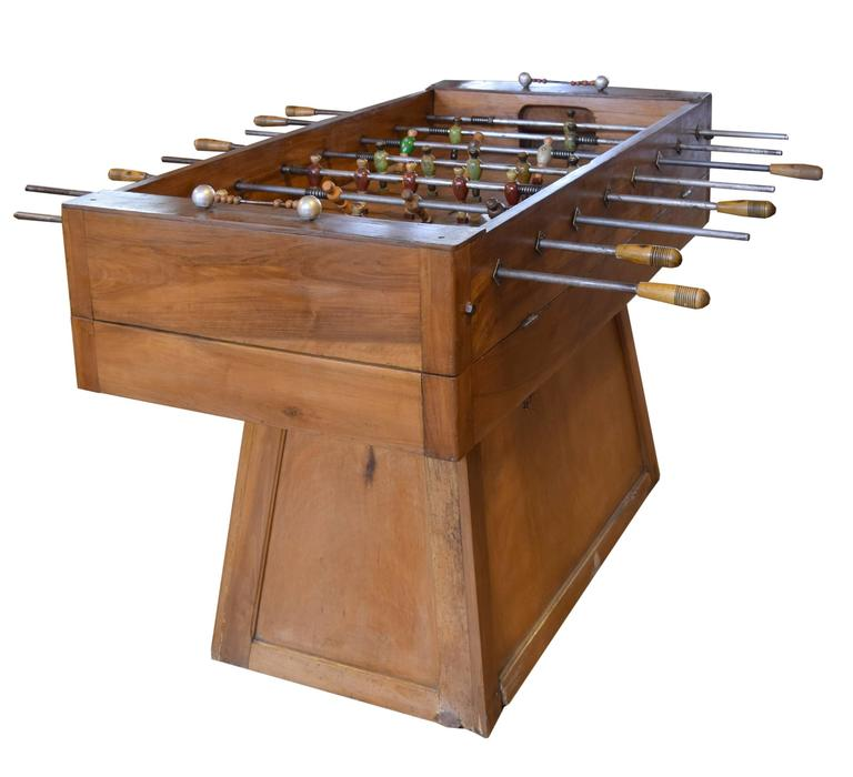 Italian Foosball Table In Good Condition For Sale In Chicago, IL