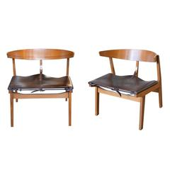 Pair of Mid-Century Modern Armchairs