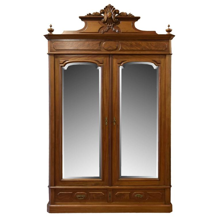 American Two-Door Armoire