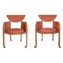Pair of Frank Lloyd Wright Designed Armchairs, 1953