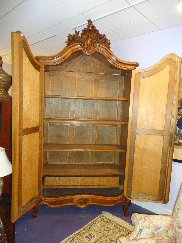 terrific antique cherry armoire