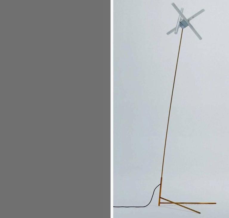 Modern Standing Floor Lamp 'OLVIDADA' by Pepe Cortes For Sale
