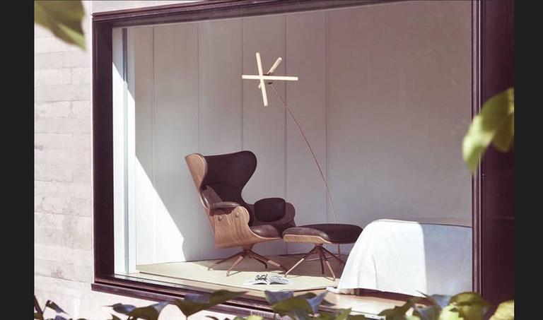 Spanish Standing Floor Lamp 'OLVIDADA' by Pepe Cortes For Sale