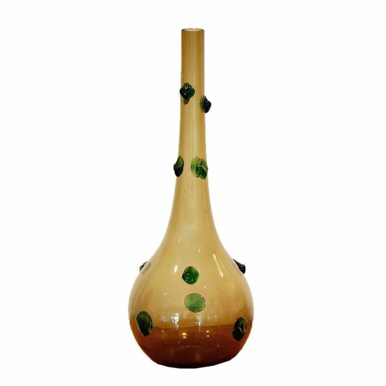 Large Empoli Glass Vase 1