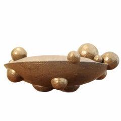 Bronze Orb Vessel