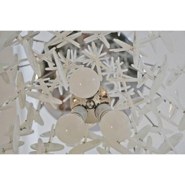 Mazzega Cascade Chandelier In Good Condition For Sale In Los Angeles, CA