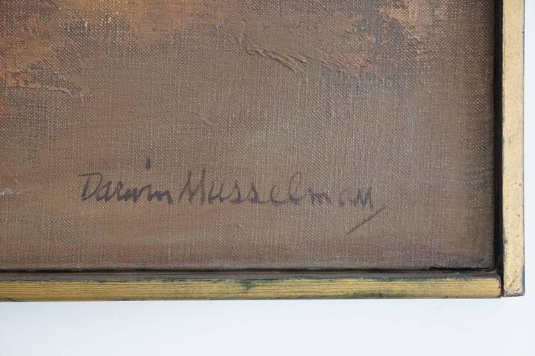 20th Century 1960s Oil Painting by Darwin Musselman For Sale