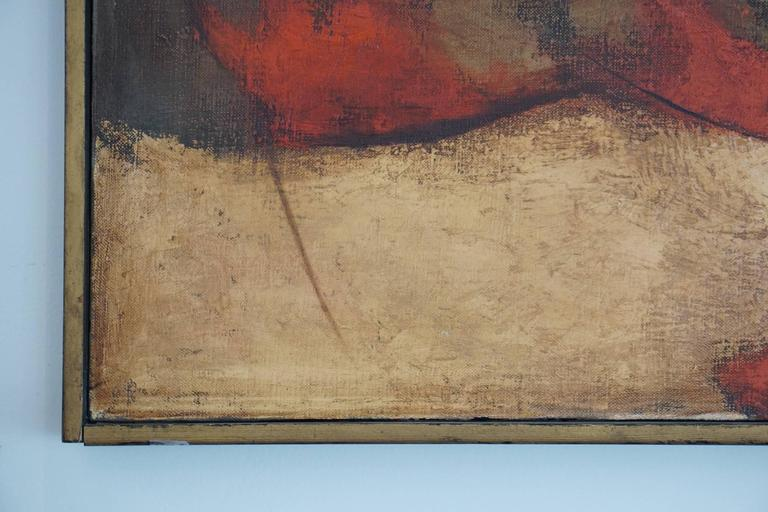1960s Oil Painting by Darwin Musselman In Good Condition For Sale In Los Angeles, CA