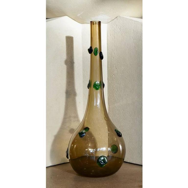 Large Empoli Glass Vase 3