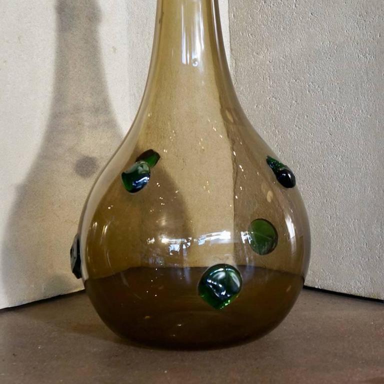 Large Empoli Glass Vase 4