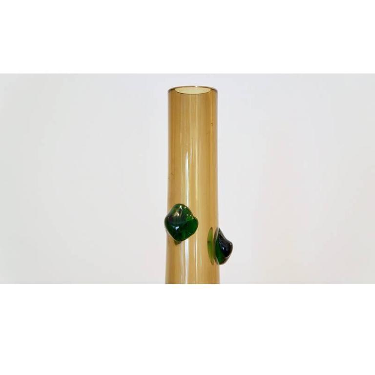 Large Empoli Glass Vase 5